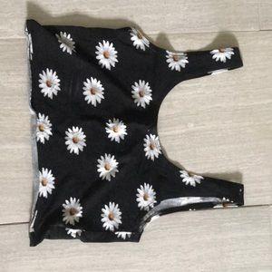 PacSun daisy crop top